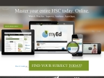 View More Information on myEd Online