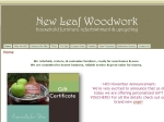 View More Information on New Leaf Woodwork