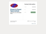 View More Information on Panel & Paint Specialists