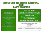 View More Information on Discount Rubbish Removal And Lawnmowing