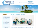 View More Information on Magnesium Pain Relief