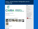 View More Information on Central Western Refrigeration And Air Conditioning