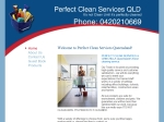 View More Information on Perfect Clean Services Qld
