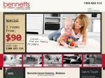 View More Information on Bennetts Carpet Cleaning, Qld