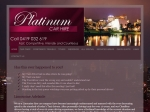 View More Information on Platinum Car Hire