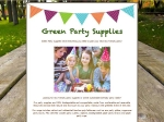 View More Information on Green Party Supplies