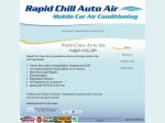 View More Information on Rapid Chill Auto Air
