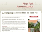 View More Information on River Park Accommodation