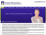 View More Information on Forrest Personnel, Busselton