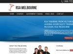 View More Information on RSA Course Melbourne