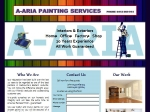 View More Information on A-Aria Painting Services
