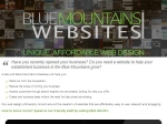 View More Information on Blue Mountains Websites