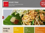 View More Information on Ivory Thai