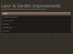 View More Information on Lawn And Garden Improvements