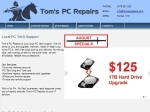 View More Information on Tom's PC Repairs