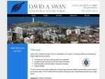 View More Information on David A. Swan