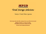 View More Information on Jefco Tanks & Water
