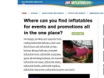 View More Information on Mr Inflatables