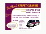 View More Information on Bethel Carpet Cleaning