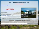 View More Information on Ballina Byron Mini Bus Hire