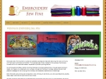 View More Information on Embroidery Sew Fine