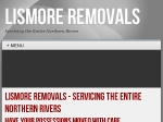 View More Information on Lismore Removals