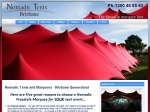 View More Information on Nomadic Tents Brisbane
