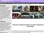 View More Information on Orange Limousines