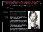 View More Information on Exotic Exposure Modelling Agency & Promotions