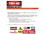 View More Information on TUFF-AS Workwear and Safety