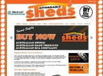 View More Information on Affordable Sheds Toowoomba