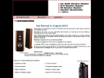 View More Information on Short Fuse Speaker Repairs