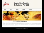 View More Information on Australian Freight Solutions Pty Ltd