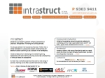 View More Information on Intrastruct