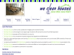 View More Information on We Clean Houses