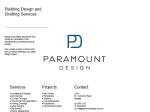 View More Information on Paramount Design