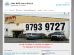 View More Information on Allied 4WD Spares Pty Ltd