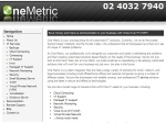 View More Information on One Metric Pty Ltd