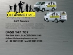 View More Information on Cleaning Time