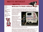 View More Information on Mutts Without Matts Mobile Dog Wash