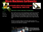 View More Information on Micro Machines Earthworks
