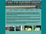 View More Information on Easyfit Garden Sheds