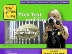 View More Information on Tick Test Tag