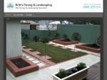 View More Information on Britt's Paving & landscaping