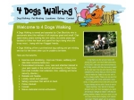 View More Information on 4 Dogs Walking