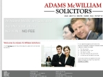 View More Information on Adams McWilliam Solicitors