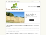 View More Information on Pride Fencescapes