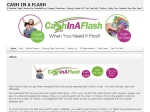 View More Information on Cash In A Flash