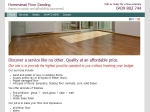 View More Information on Homestead Floor Sanding