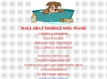 View More Information on Ballarat Mobile Dog Wash Clipping & Grooming